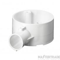 Schneider 1-Way Terminal Box PVC 20mm White 20CJB2W