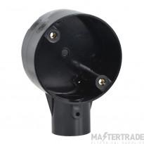 Schneider 1-Way Terminal Box PVC 25mm Black 25CJB2B