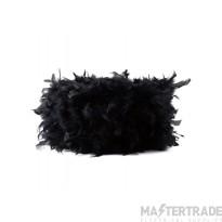 Diyas ILS10625 Arqus Feather Shade Black 330mm x 200mm