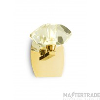 Alfa Wall Lamp Switched 1 Light G9, French Gold