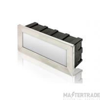 Outdoor Recessed Brick Light 3.8W 3000K 180lm IP65