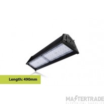Compact Tough Linear High Bay IP65 13000LM 100W 4000K 30x70 deg Beam Angle Dimmable