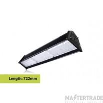 Compact Tough Linear High Bay IP65 19500LM 150W 4000K 60x90 deg Beam Angle Dimmable