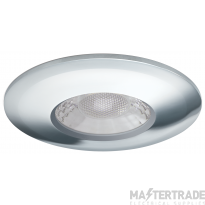 JCC V50 LED Fire Rated Downlight Emergency with Chrome Bezel