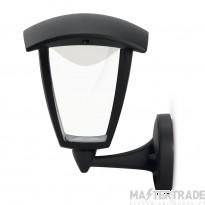 JCC LED Lantern Bottom Arm Cast + PIR 7.5W 270lm 4000K IP44
