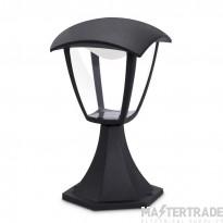 JCC LED Lantern Post Top Cast 7.5W 270lm 4000K IP44