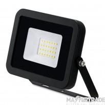 JCC 20W LED Floodlight IP65 Alu 4000K Black