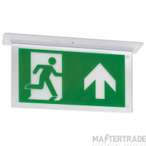 JCC JC50326 LED Emergency Recessed Exit Blade 3hrM IP20 without legend