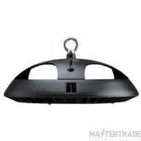 JCC ToughBay Circular 100W 10,600lm 5700K IP65 105° Dimmable Black inc Hook EM