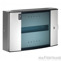 Invicta 3 32 Mod TPN/A Distribution Board c/w 100A Switch & Glazed Door JK129AG