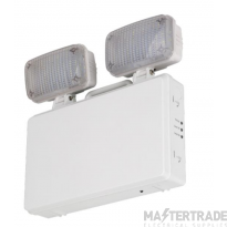 NVC Kansas NKS2X3/IP20/NM3 Twinspot IP20 2X3W LED Non-Maintained 3Hr Lamps