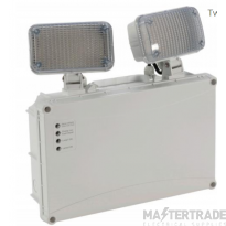 NVC Kansas NKS2X3/IP65/ST/NM3 Twinspot IP65 2X3W LED Non-Maintained 3Hrs Self Test