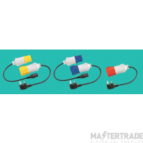 KEWTECH ELKIT Lead+110/230/415V Adaptors