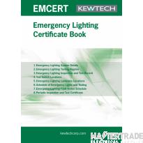 KEWTECH EMCERT Certificate Pad A4