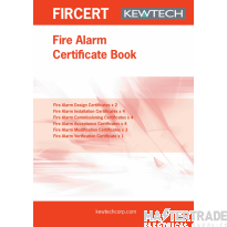 KEWTECH FIRCERT Fire Certificate Pad A4