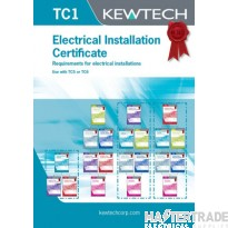 KEWTECH TC1 Certificate Pad A4x84 Sheets