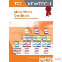 KEWTECH TC2 Certificate Pad A4x40 Sheets