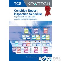 KEWTECH TC8 Report Pad A4x80 Sheets