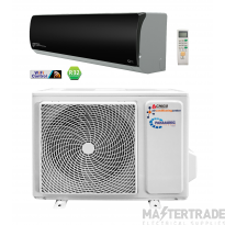 Gloss Black 9000 BTU Wall Split AC