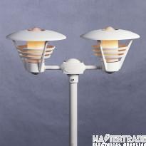 Konstmide 501-250 Gemini Twin Post Light M.White