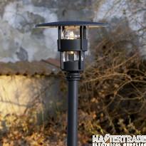 Konstmide 523-750 Freja Matt Black Post Light