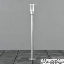 Konstmide 702-320 Mode short post 8W LED galvan