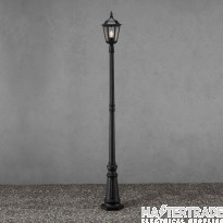 Konstmide 7233-750 Firenze Column Light M. Black