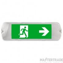 Mulu, emergency light & Exit Sign, 5W, 190lm, 6500K,