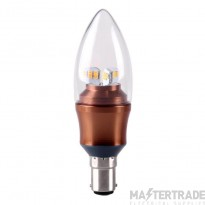Kosnic LED 5.5w Candle  Dimmable B15