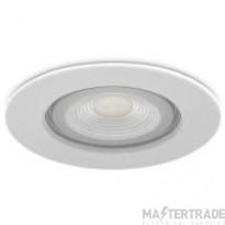 Kosnic KFDL05DIM/S30-WHT Erta 5W LED fire rated downlight 3000K White