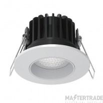 Kosnic KFDL10DFW/SCT-WHT Telica Fixed Fire Rated Downlight CCT White