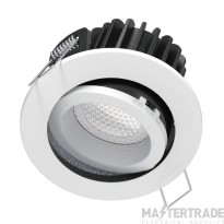 Kosnic KFDL10DTW/SCT-WHT Tilt Fire Rated Downlight CCT White