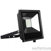 Kosnic 50w Flood Light- 120 degree- 6500k BLACK