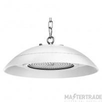 Kosnic 200W food process safe circular LED high bay white, DALI dim, 5000K