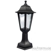 KSR KSR1141BLK Pillar Lantern E27 60W