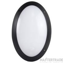 KSR KSR1176BLK LED Bulkhead Oval 12W Black