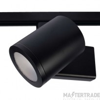 Meta 24W Led 3000K Track Fitting Black