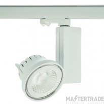 Escala 15W Ar111 Track Fitting Complete With 45° 4000K Non-Dimmable Lampwhite