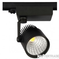 Escala Iii 50W 4000K Led Track Fitting Black