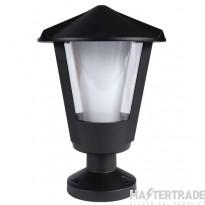 Andaluz E27 Pillar Lantern Black