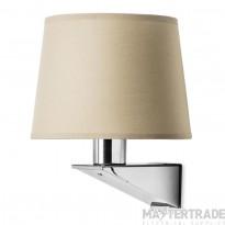 LEDS C4 Wall Fixture Gloss 1 X E27 Max 60W  Satin Nickel C