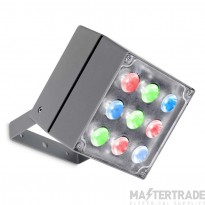 LEDS C4 Spotlight Cube 9 X Led 20W  Urban Grey