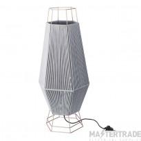 LEDS C4 Floor Lamp Legato 1 X E27 Max 60W  Grey