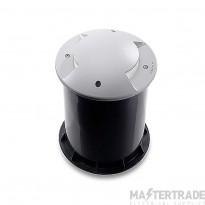 LEDS C4 Uplight Recessed Xena 1 X E27 Max 20W  Grey