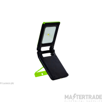 Luceco LED RechargeableWorklight 10W Green LMWR10G65