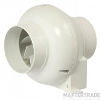 Manrose CFD200T Fan Inline Cent 100mm