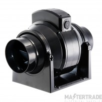 Manrose MF100T MixFlo 100mm commercial induct fan timer