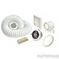Manrose SLKTCLEDB LED Showerlite & Timer