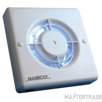 Manrose XF100PIR 100mm bathroom fan PIR