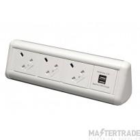 Tass MAXID3U Maxi Desk Top Power Unit
